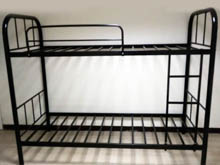 JBBD - Tubular Bed Frame - Black Bolt And Nut Fittings