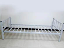 JSB2 - Tubular Bed Frame - Grey