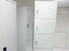 Six Tier Locker